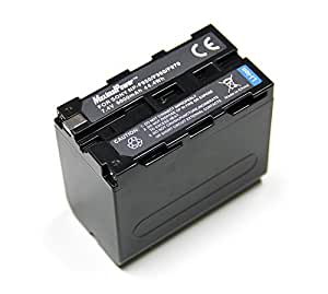 Maximal Power NP-F950/F970 Replacement Battery for Sony Digital Camera Camcorder