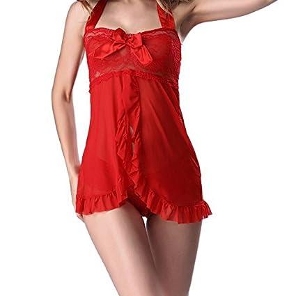 Tentación Lencería Racy para Mujeres Chicas Gordas Sexy Bodysuits Ropa De Dormir Ropa Interior Ropa De