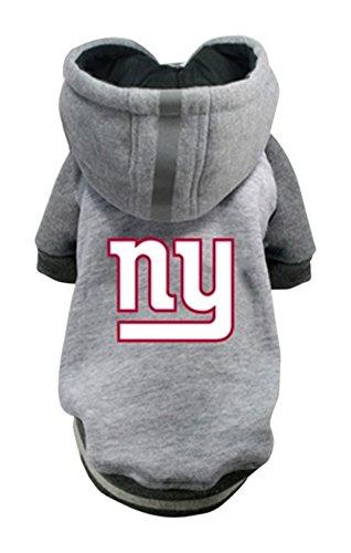 Hip Doggie NFL Giants Pet Hoodie, XX-Large