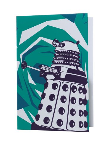 Doctor Who Dalek Home Greeting Card - Green BBC Worldwide DWSY12528