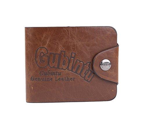 Genda 2Archer Herren Soft-Tasche Bifold Brieftasche Vintage-Knopfverschluss ID Kreditkarteninhaber (Style 5) Style 9 njy4WinPM