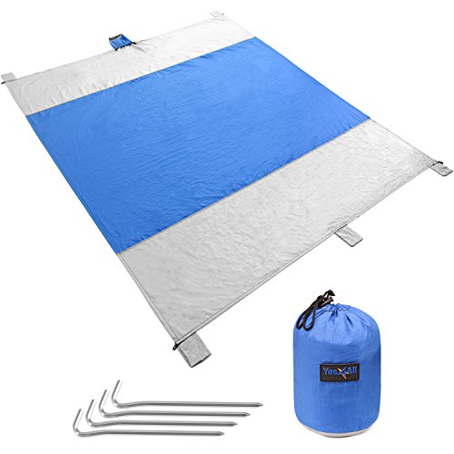 Yes4All Waterproof Beach Blanket Stakes