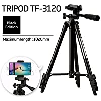 SHOPEE Fully Flexible Mount Cum Tripod with 3-Section Lever-Lock Legs for Most Video Cameras