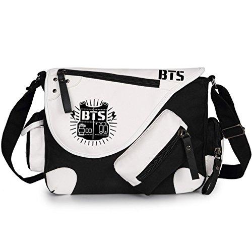 JUSTGOGO Casual Messenger Bag Crossbody Bag Shoulder Bag Travel Bag Handbag Tote Bag (1) by JUSTGOGO (Image #1)