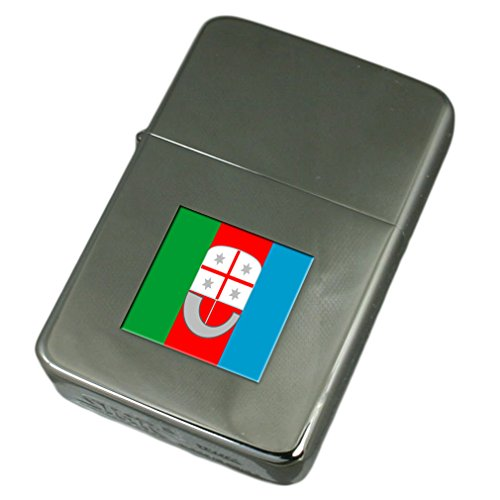 Engraved Lighter Liguria Region Italy Flag by Select Gifts