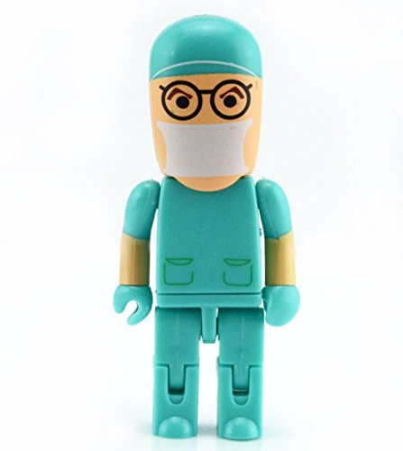 shooo Hembra Enfermera USB Flash Drive Juguete Forma Estilo Cartoon Robot 6