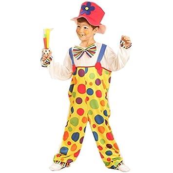 Disfraz de payaso para niño o niña: Amazon.es: Juguetes y juegos