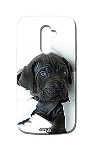 Funda carcasa Case perro Folio para LG L Bello D331