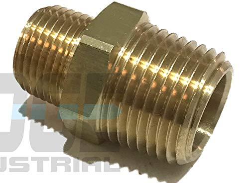 EDGE INDUSTRIAL Steel Male TEE 1//2 MNPT NPT HYDRUALIC//Fuel WOG Oil//Gas AIR//Water