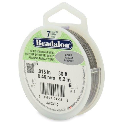 Beadalon Stringing 7 Strand 018 Inch 46 Millimeter
