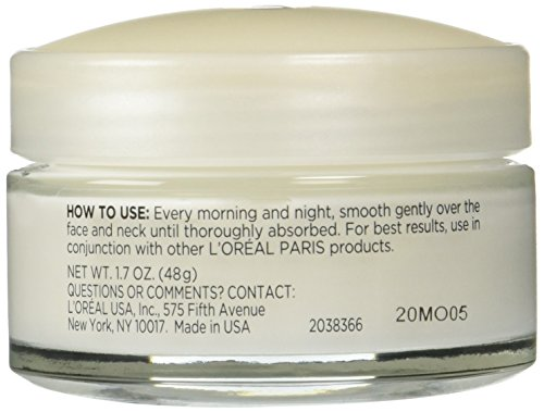 41RK5qff31L - L'Oreal Paris Skincare Wrinkle Expert 55+ Anti-Aging Face Moisturizer with Calcium Non-Greasy Suitable for Sensitive Skin 1.7 fl. oz.