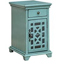 Coast to Coast One Drawer One Door Chairside Cabinet