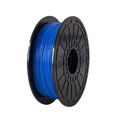 PLA-Blue-FlashForge-3D-Printer-Premium-Filament175-mm-Diameter-NW06-Kg-Per-Spool-for-Dreamer-and-Finder-3D-Printers