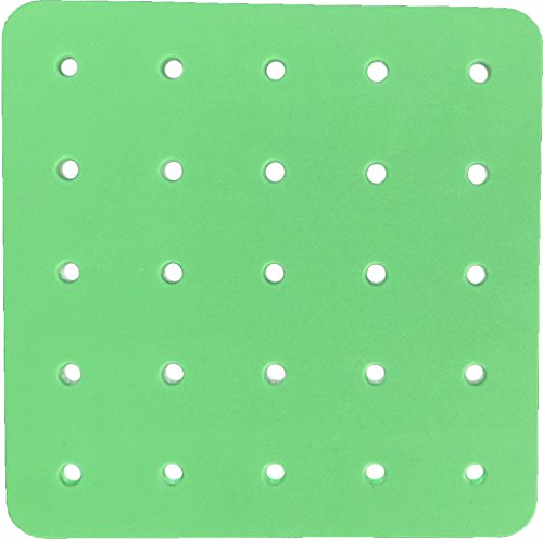 CC O PLAY Green PEGBOARD for 25 Peg Toys for Children, Great Additional Pegboard or Replacement for Toddlers