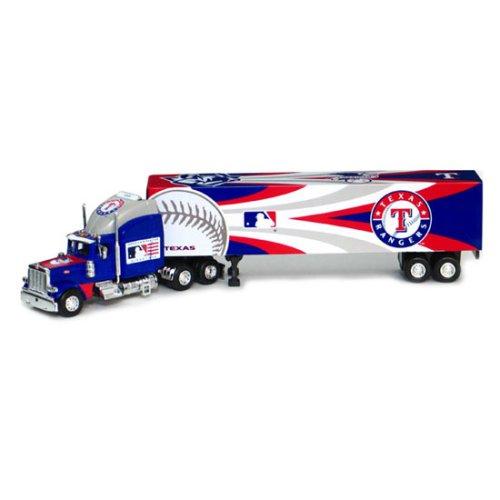 Texas Rangers 2006 MLB Peterbilt Tractor Trailer (Peterbilt Deck Trailer Upper Tractor)
