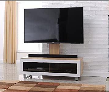 Tnw Munich Tv Stand With Bracket For Up To 55 Inch Tvs Amazoncouk