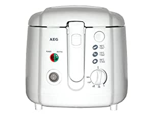 AEG FR 5624 - Freidora, 1800 W, capacidad 2 l, color blanco