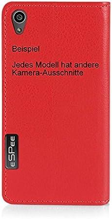 H/ülle in Rot aus Silikon mit Strass Ranke unzerbrechliche Schutzh/ülle unsichtbarer Magnetverschluss eSPee Handyh/ülle f/ür Apple iPhone ✅ X//XS ✅