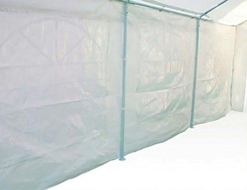 Heavyduty White Tarp Poly Tarpaulin Canopy Tent Shelter Car Multi Purpose by BONNILY (Image #4)