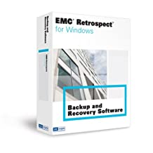 Emc Retrospect 7.5 Disk to Disk Windows Us#j42137