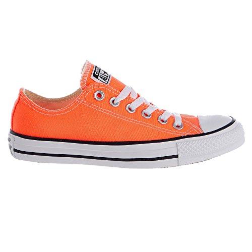 Top hyper orange converse women