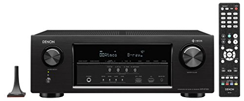 Denon AVRS730H 7.2 Channel AV Receiver with Built-in HEOS wireless technology (Certified Refurbished) by Denon