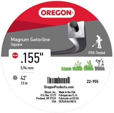 Oregon 22 - 955 Gatorline Heavy-Duty Magnum Profesional 1/2-pound ...