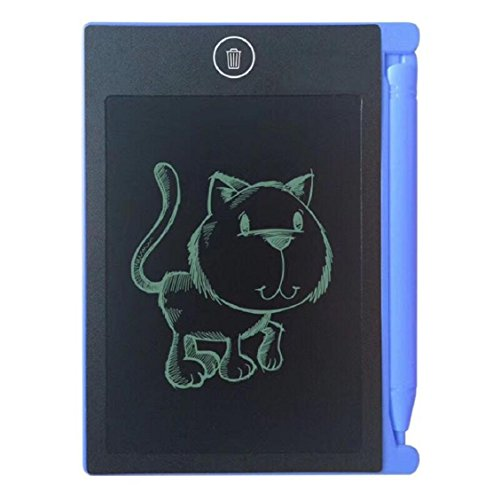 Price comparison product image Naladoo 4.4 inch Digital LCD eWriter Handwriting Paperless Notepad Drawing Graffiti (Blue)