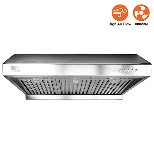 "BV Stainless Steel 30"" Under Cabinet High Airflow  Ducted Ra"