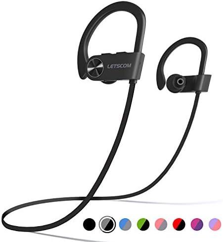 LETSCOM Headphones Waterproof Sweatproof Cancelling product image
