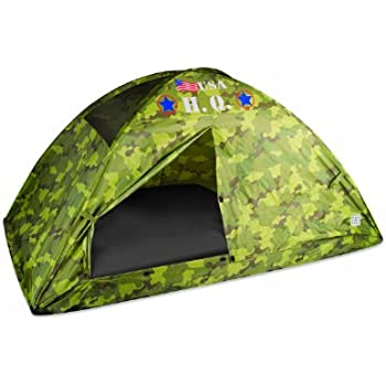 Pacific Play Tents HQ Twin Bed Tent, Camouflage