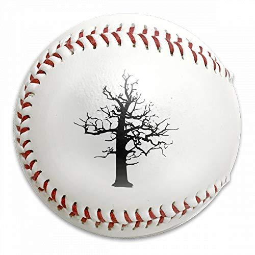FFMMdog Custom Halloween Scary Lightning Struck Dead Treet Baseball