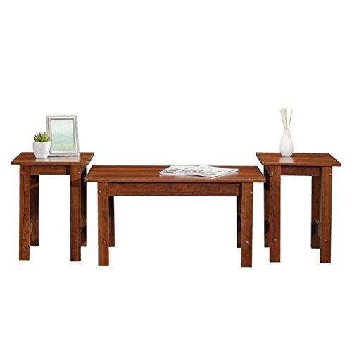 Sauder Beginnings 3 Piece Coffee Table Set