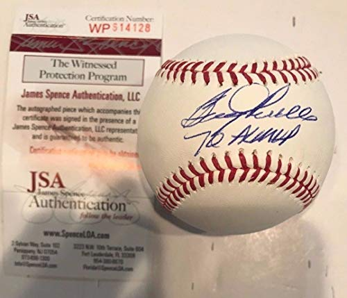 BOOG POWELL AUTOGRAPHED SIGNED INSCRIBED OML BASEBALL JSA - Autographed Boog Baseball Powell