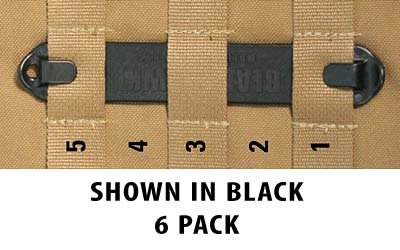 BLACKHAWK! Speed Clips (6-Pack #5), Coyote Tan