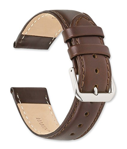 deBeer Stage Coach Leather Watch Strap - 20mm - Brown