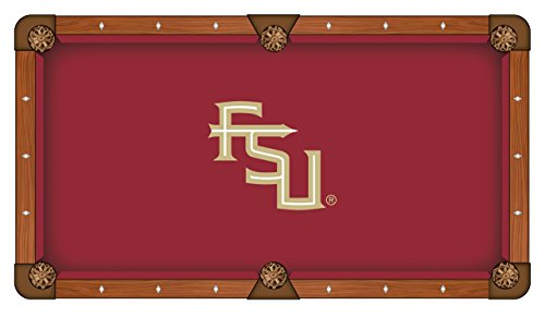 Holland Bar Stool Co. Florida State (Script) Pool Table Cloth