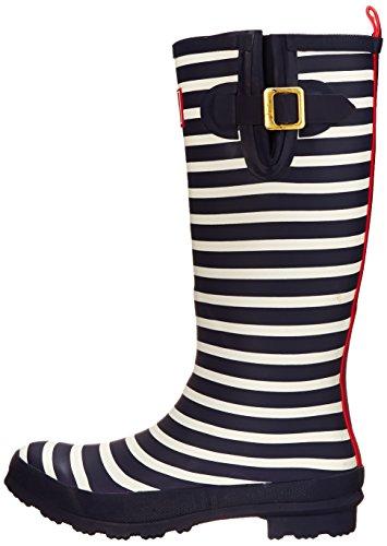 Welly Print - Navy Stripe