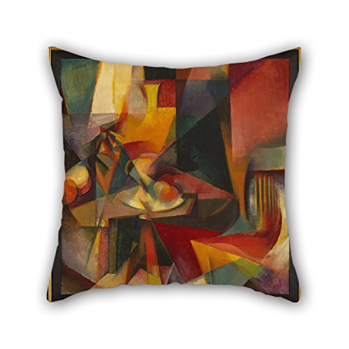 (beeyoo 20 X 20 inches / 50 by 50 cm Oil Painting Stanton Macdonald-Wright - Synchromy No. 3 Pillow Covers Twin Sides is Fit for Boys Bar Seat Indoor Club)