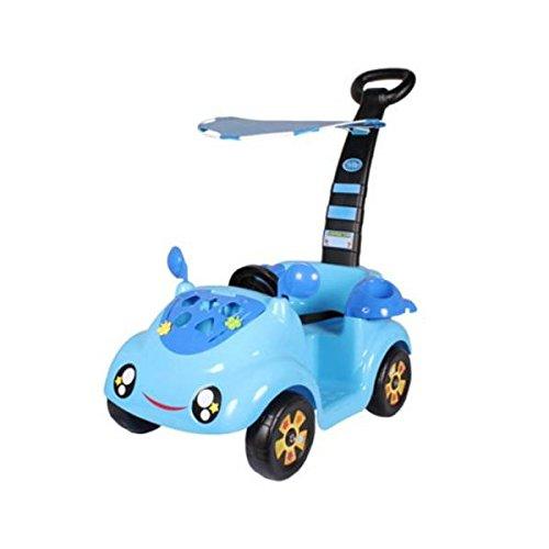 Carro Mini Móvil Color Azul con Techo 5205 para Bebé