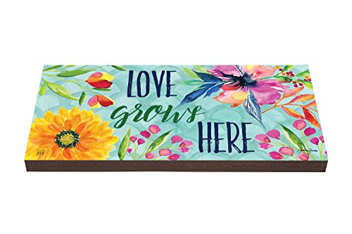 Studio M PV1023DS Love Grows Here Garden Art Paver - Faux Stepping Stones