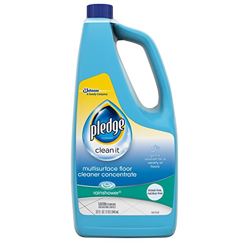 Pledge Floor Care Concentrate Multi Surface Cleaner Glade Rainshower, 32 oz