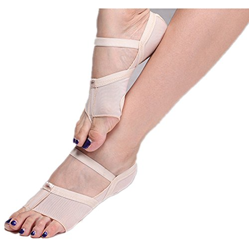 Foot Paws Forefoot pack Thongs Lyrical 2 Toe Shoes Half Fitness Undies Pad Dance wEdqRBB