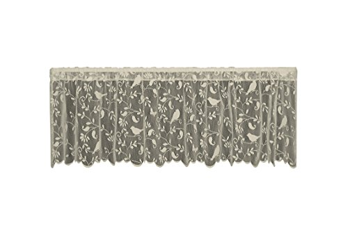 Heritage Lace Bristol Garden Valance, 60 by 18-Inch, Cafe