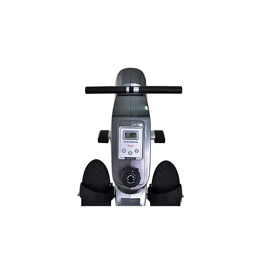 Sunny Health & Fitness Magnetic Rowing Machine with LCD Monitor by SF RW5515