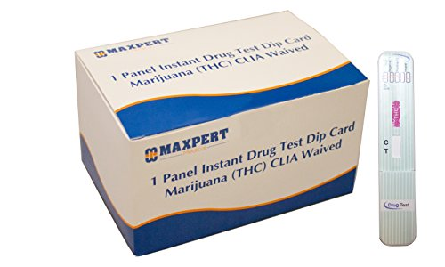 1-Panel-Instant-Drug-Test-Dip-Card-Marijuana-THC-CLIA-Waived-25-per-package