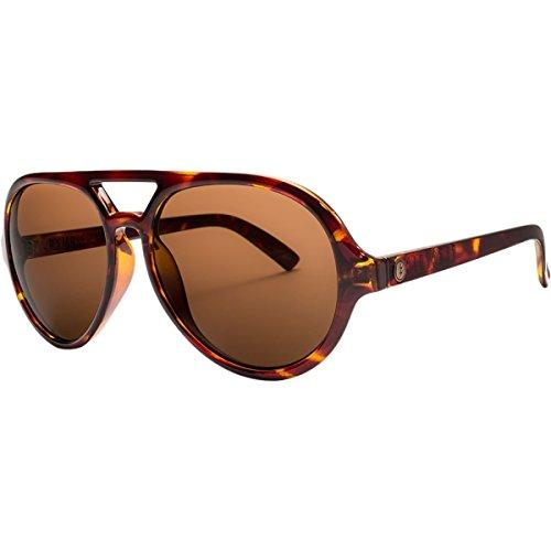 Electric Visual Scrambler Gloss Tortoise/OHM Bronze Aviator Sunglasses