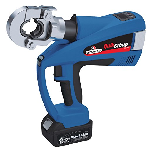 Eclipse Tools 902-484 Eclipse Tools QuickCrimp Battery Powered Hex Crimper with (Crimper Hex Die)