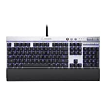 Corsair Vengeance K70 Mechanical Gaming Keyboard-Silver Cherry MX CH-9000019-NA (Red)