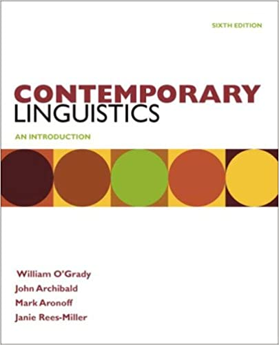 Amazon contemporary linguistics 9780312555283 william o contemporary linguistics sixth edition fandeluxe Choice Image